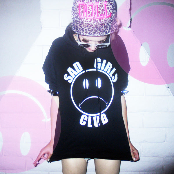 Sad Girls Club Hoodie Nikkilipstick