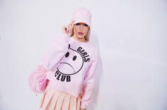 SAD GIRLS CLUB TENNIS SKIRT BABY PINK