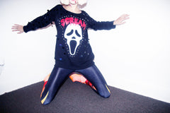 SCREAM OFF THE SHOULDER SWEATSHIRT
