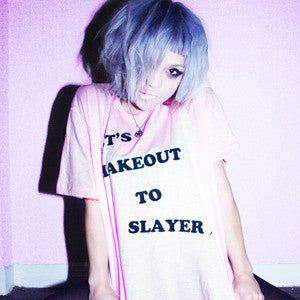 LET'S MAKEOUT TO SLAYER TEE