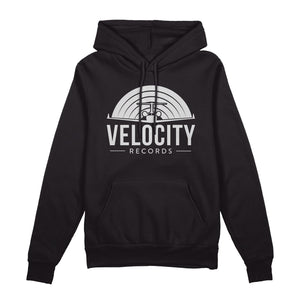 Velocity Records • Pullover Hoodie • Black