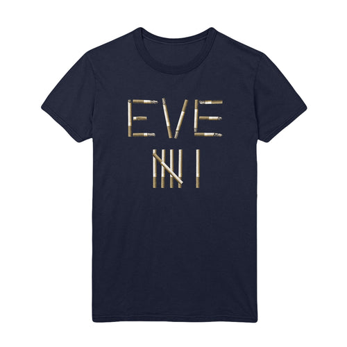 Eve 6 • Eve Cigs T-Shirt • Navy • Pre-Order Available 6.25.2021