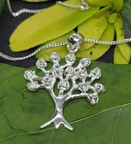 Silver Celtic Tree of Life Pendant With Silver Chain Spiritual Pagan Ancient Necklace Silver Jewellery With Gift Box and Jewellery Bag - Arts and Beauty Ltd