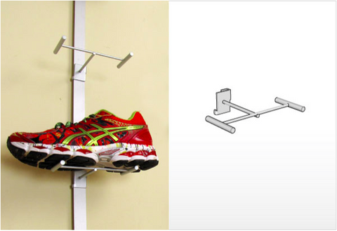 Wire Shoe Display - Blade System