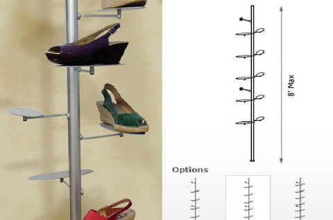 Flat Shoe Display Kit - Palo System