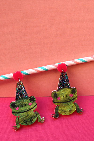 Ribbit Throws A Party