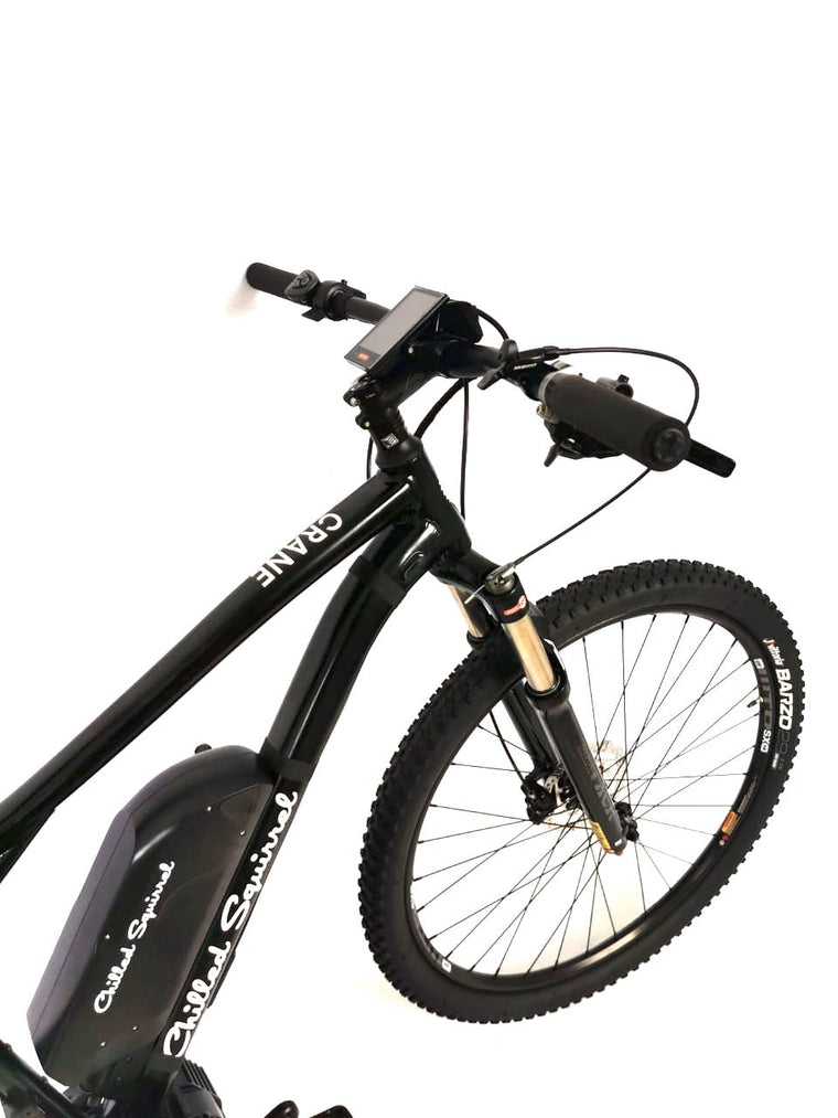 "CRANE PARADISE 250W ~ 1000W 29"" e-MTB Hardtail . Samsung 48V Batteries - choice of Medium to  Long Range."