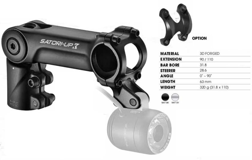 E-BIKE SPECIFIC ADJUSTABLE STEMS