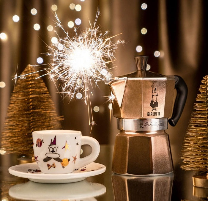 a night of celebration with a cup of coffee