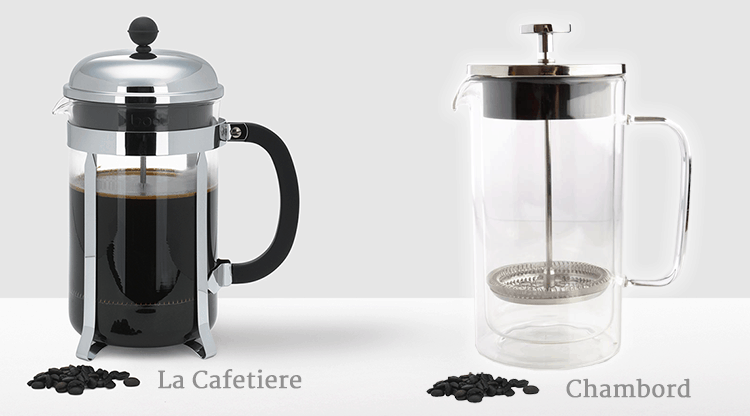 La Cafetiere and the Chambord