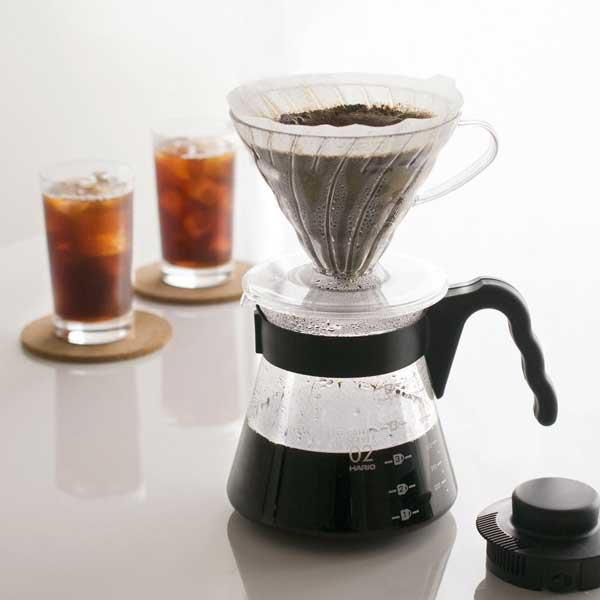 Hario Craft V60 Brewing Kit - Black