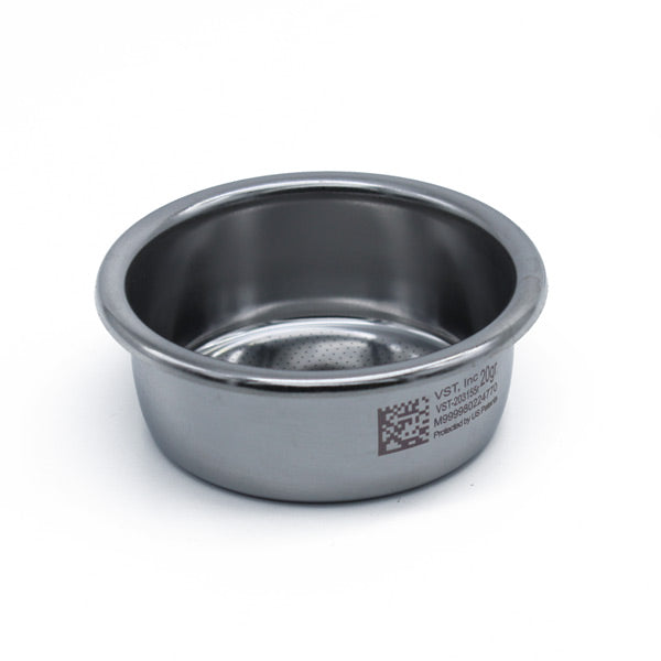 VST Precision Double Ridgeless Filter Basket, 58mm Group
