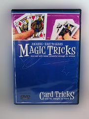Card Tricks Instructional DVD