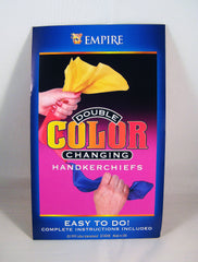 Double Color Changing Handkerchiefs
