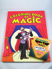 Coloring Book of Magic with Vanishing Crayons