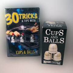 30 Tricks & Tips DVD with Cups & Balls