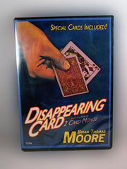 Disappearing Card Instructional DVD