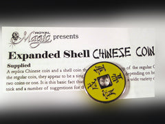 Expanded Chinese Coin and Shell