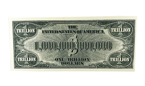 One Trillion Fake Bill Back