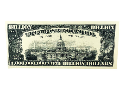 One Billion Fake Bill Back