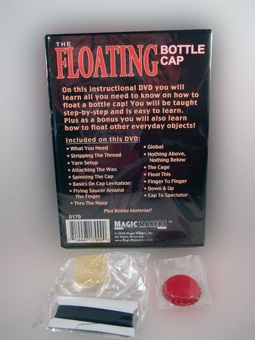 Floating Bottle Cap Back