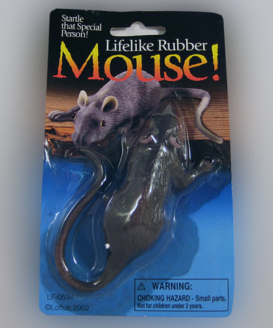 Rubber Mouse