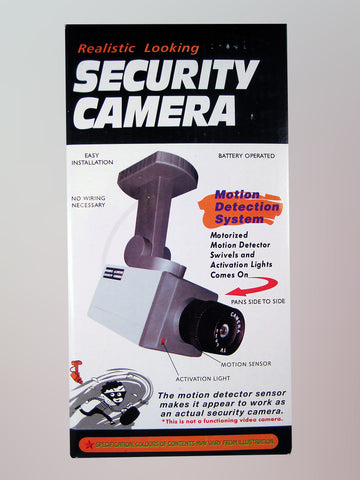 Fake Motion Detector Security Camera