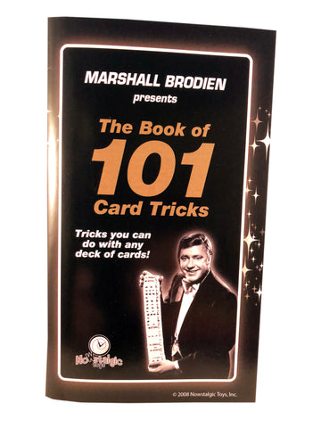 TV Magic 101 Tricks Book