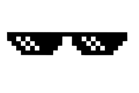 8 Pixel Glasses