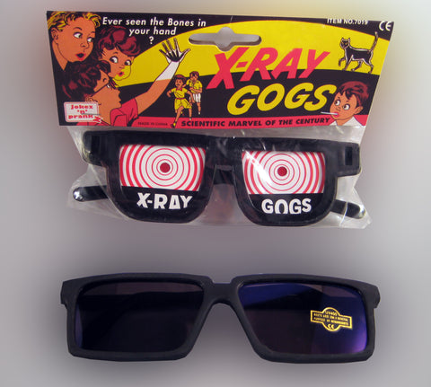X-Ray Gogs + Spy Glasses Combo