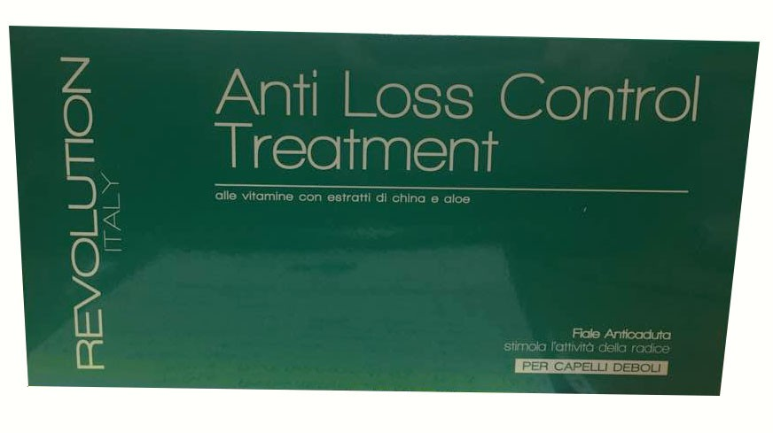 Fiale trattamento anticaduta anti loss control Revolution 10 fiiale 10ml
