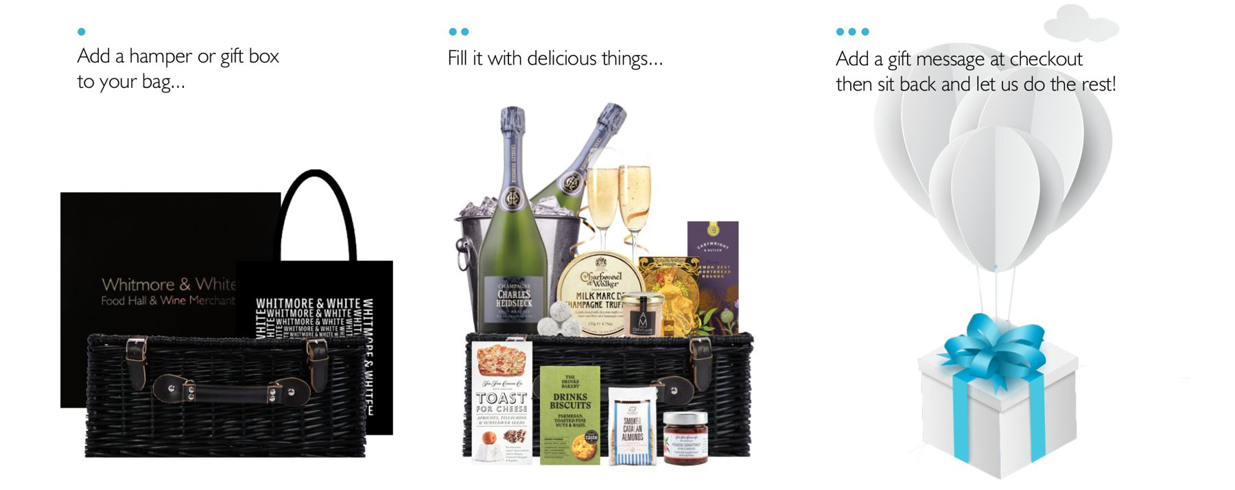 Create Your Own Food and Drink Gift Hamper Online
