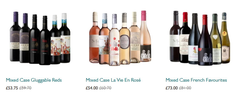 Mixed Case Wine Offers