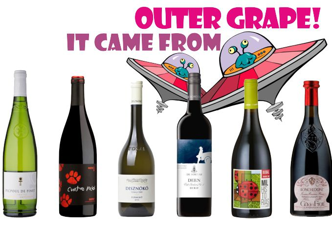 It Came From Outer Grape - Unusual Varietals