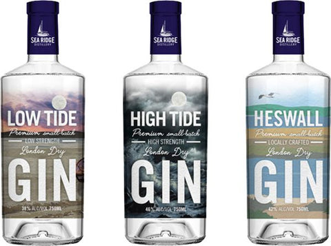 Sea Ridge Distillery Gins