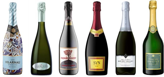 Mixed Case Wine - Sparkling & Champagne