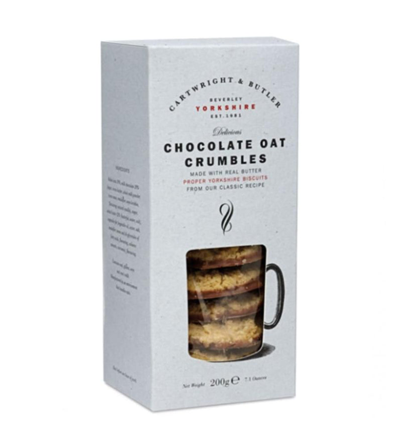 Cartwright & Butler Chocolate Oat Crumbles