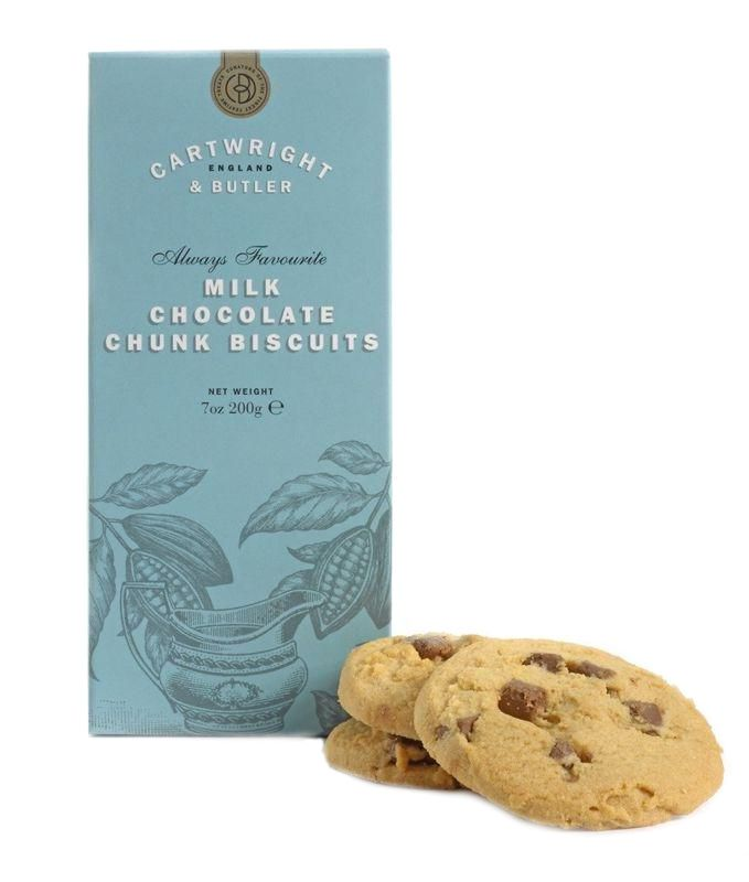 Cartwright & Butler Milk Chocolate Chunk Biscuits