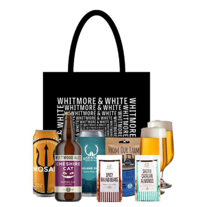 Gift Bag - Craft Beers & Snacks