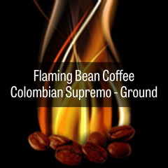 Flaming Bean Colombian Supremo - GROUND