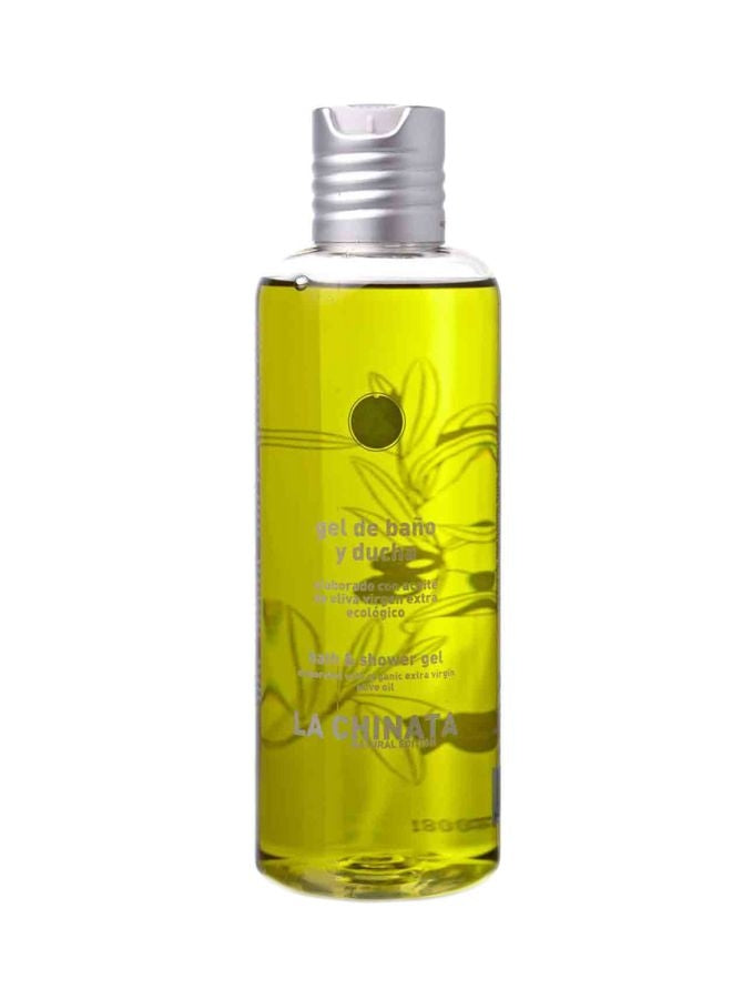 La Chinata Natural Edition Shower Gel is designed for all skin types, both sensitive and normal, and it's formulated with ingredients that moisturise and soften while cleaning skin. This shower gel also has extracts of Extra Virgin Olive Oil that cleans s