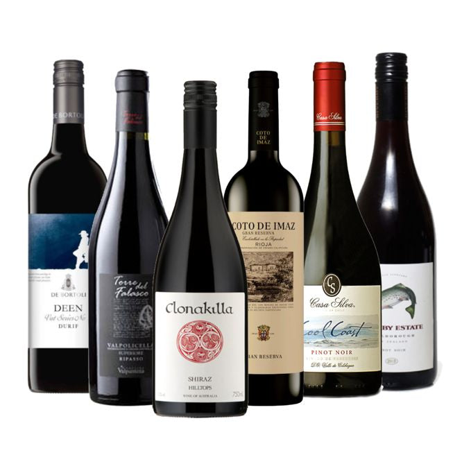 Mixed Case Favourite Reds