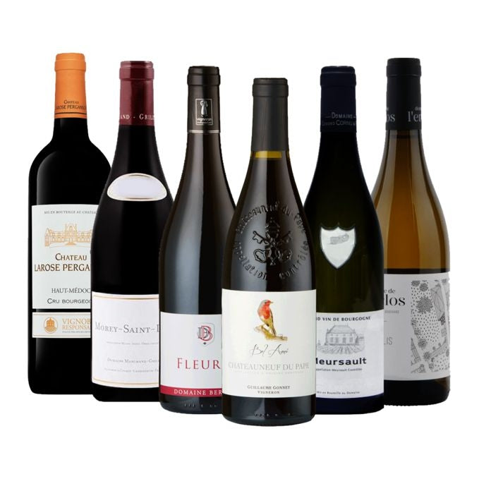Mixed Case Wine - Six French Fine Wines