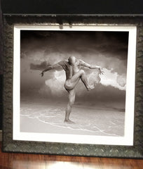 """Beach Bum"" Museum Framed 30"" x 30"" Limited Edition Photograph # 3 of 3"