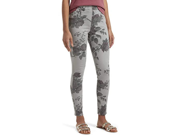 FLORAL ULTRA SOFT DENIM HIGH WAIST LEGGING