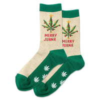 Merry Juana Sock with grips on the sole