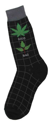 Good Weed. Bad Weed Sock