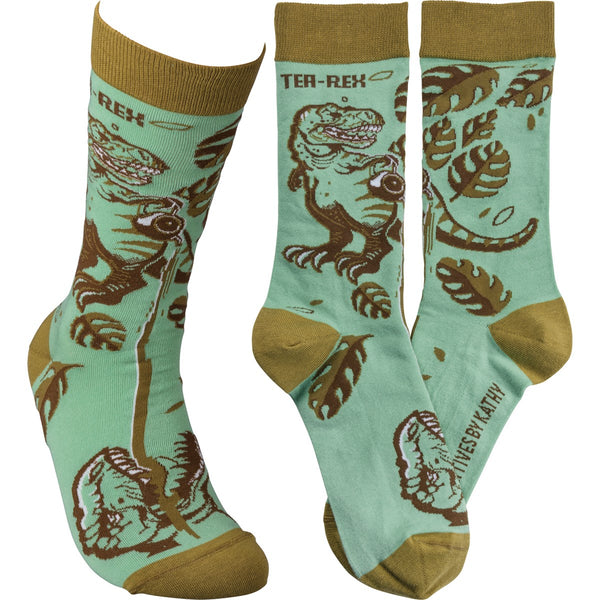 Tea Rex Sock