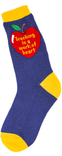 Teaching is a Work of Heart Sock