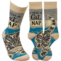 Cat Nap Sock